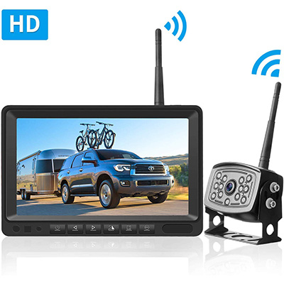 7. LeeKooLuu HD Digital Wireless Backup Camera