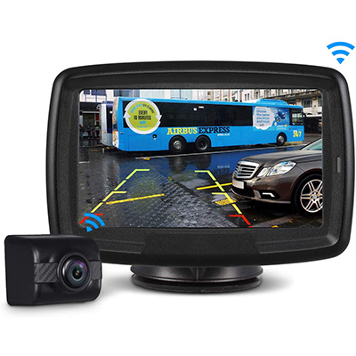 8. AUTO-VOX Wireless Backup Camera and Monitor Kit