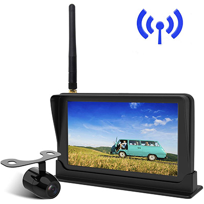 "10. Peizeen Wireless Backup Camera with 4.3"" LCD Screen (MN01)"
