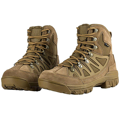 9. FREE SOLDIER Men's 6 Inches Outdoor Tactical Boots
