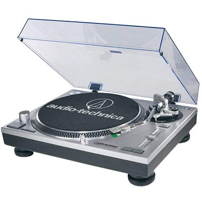 4. Audio-Technica AT-LP120-USB Professional Turntable