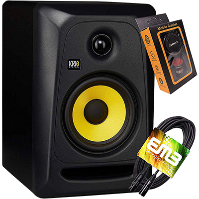 7. KRK RP5G3 ROKIT 5 G3 2-Way Powered Studio Monitor