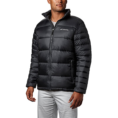 2. Columbia Men's Insulated Frost Fighter Puffer Jacket
