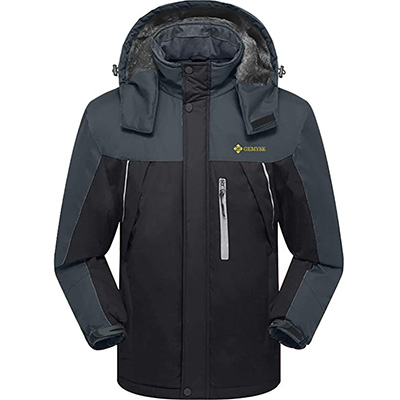 3. GEMYSE Men's Mountain Waterproof Jacket