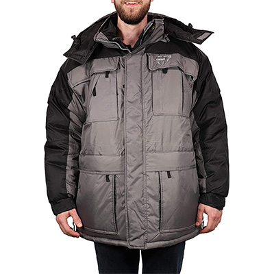 8. Freeze Defense Men's 3in1 Winter Jacket