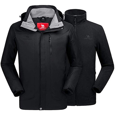 9. CAMELSPORTS Men's Mountain Jacket